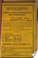 Bernard s omnibus  coach  tram carriage  and steam packet guide Book PDF