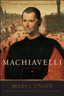 Pdf Machiavelli