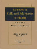 Handbook of Child and Adolescent Psychiatry  Varieties of Development