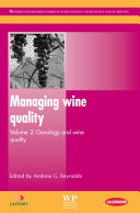 Managing Wine Quality Book