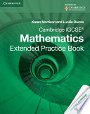 Books - Cambridge Igcse� Mathematics Extended Practice Book | ISBN 9781107672727