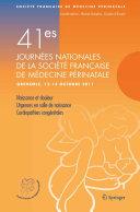 41e Journées nationales de la Société française de médecine périnatale