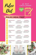 Paleo Diet 30 Day Challenge Paleo Meal Prep