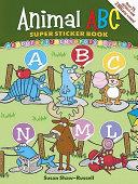 Animal ABC Super Sticker Book