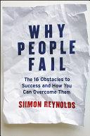 Why People Fail Pdf