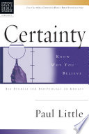 Certainty Book PDF