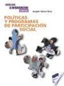 Políticas y programas de participación social