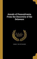 ANNALS OF PENNSYLVANIA FROM TH
