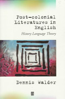 Post Colonial Literatures In English
