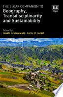 The Elgar Companion to Geography  Transdisciplinarity and Sustainability Book