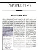 Bible Review