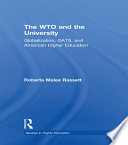 The WTO and the University