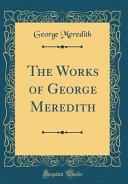 George Meredith Books, George Meredith poetry book