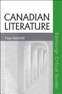 Canadian Literature Book