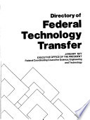 Directory of Federal Technology Transfer Book