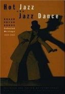 Hot Jazz and Jazz Dance
