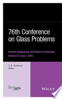 76th Conference on Glass Problems  Version A