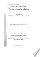 Naval Documents of the American Revolution: American theatre: May 9, 1776-July 31, 1776