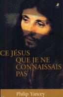 Ce Jésus que je ne connaissais pas