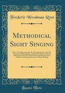 Methodical Sight Singing Book PDF