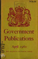 Government Publications Issued During