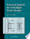 Practical Analysis for Semi rigid Frame Design Book