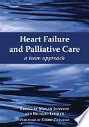 Heart Failure and Palliative Care Book