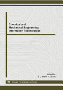 Chemical and Mechanical Engineering  Information Technologies