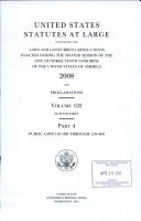 United States Statutes At Large
