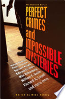 The Mammoth Book of Perfect Crimes   Impossible Mysteries Book
