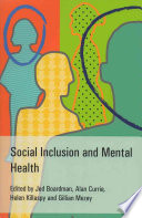Social Inclusion And Mental Health Book PDF