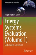 Energy Systems Evaluation  Volume 1  Book
