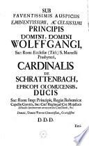 Maria, gratiarum mare. Divi Lucae penicillo adumbrata tharmaturga, ad fontes Brunenses Brunae, a tribus Fontibus Ethymologiata (etc.)