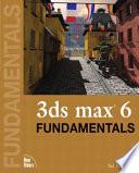 3ds Max 6 Fundamentals Book