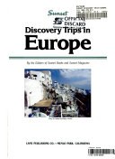 Discovery Trips in Europe Book
