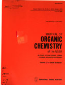 Journal of Organic Chemistry of the USSR  Book