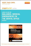 Medical Emergencies in the Dental Office - Pageburst E-book on Kno