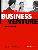Business Venture  Beginner  Workbook