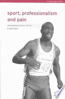 Sport Professionalism And Pain Book PDF