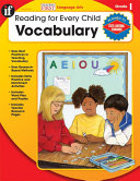 Vocabulary, Grade 1