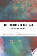 The Politics and Policies of Big Data