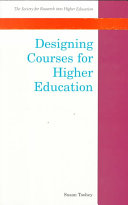 Designing Courses For Higher Education