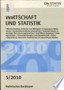 Wirtschaft und Statistik