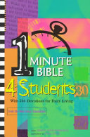 One-Minute Bible Devotions for Students