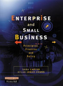 Enterprise and Small Business:Principles, Practice and Policy with the Definitive Business Plan