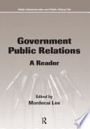 Government Public Relations Book