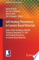 Self-Healing Phenomena in Cement-Based Materials