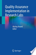 Quality Assurance Implementation in Research Labs