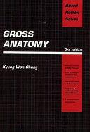 Gross Anatomy Book PDF