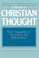 A History of Christian Thought Volume 2